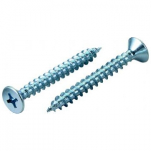 Flat Head Chipboard Screw