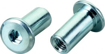 Joint connector nuts 15mm for Furniture joint connector